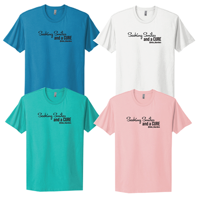 Seeking Smiles and a Cure T-Shirt