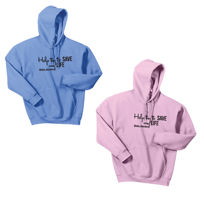 Help Try to Save My Life Hoodies