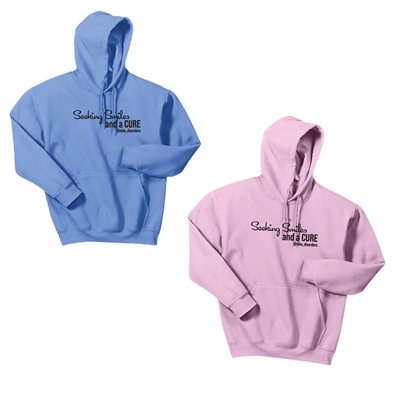 Seeking Smiles and a Cure Hoodies